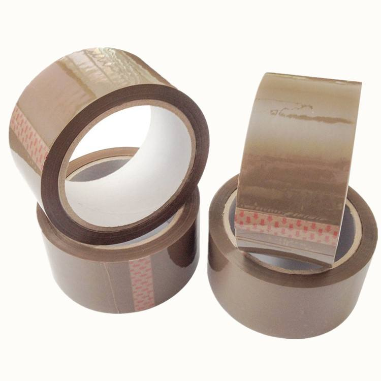 High sticky production bopp brown carton sealing tape 3 inch x 90 yard