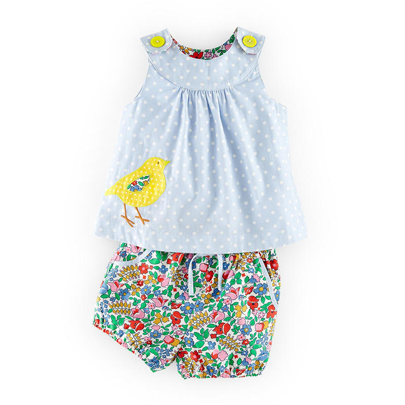 baby girl boutique clothing sets kids summer clothes vest and shorts children outfits