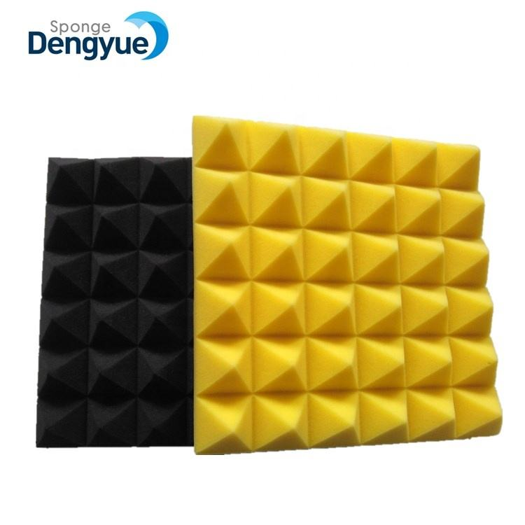 "Sale Promotion Colorful 12*12*2"" Pyramid Shape Studio Soundproof Foam"