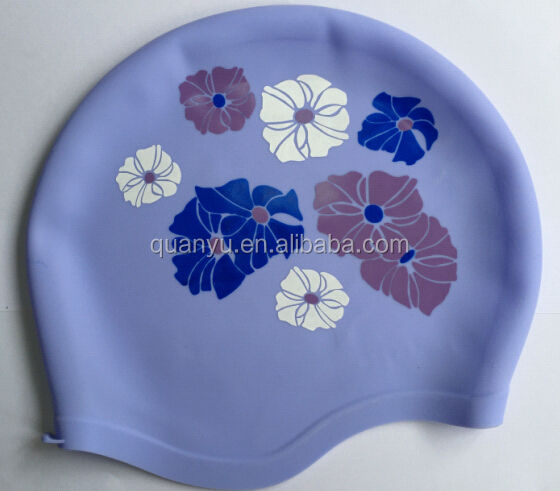 Swim Caps Hot Sell Silicone Swim Cap With Ear Protection