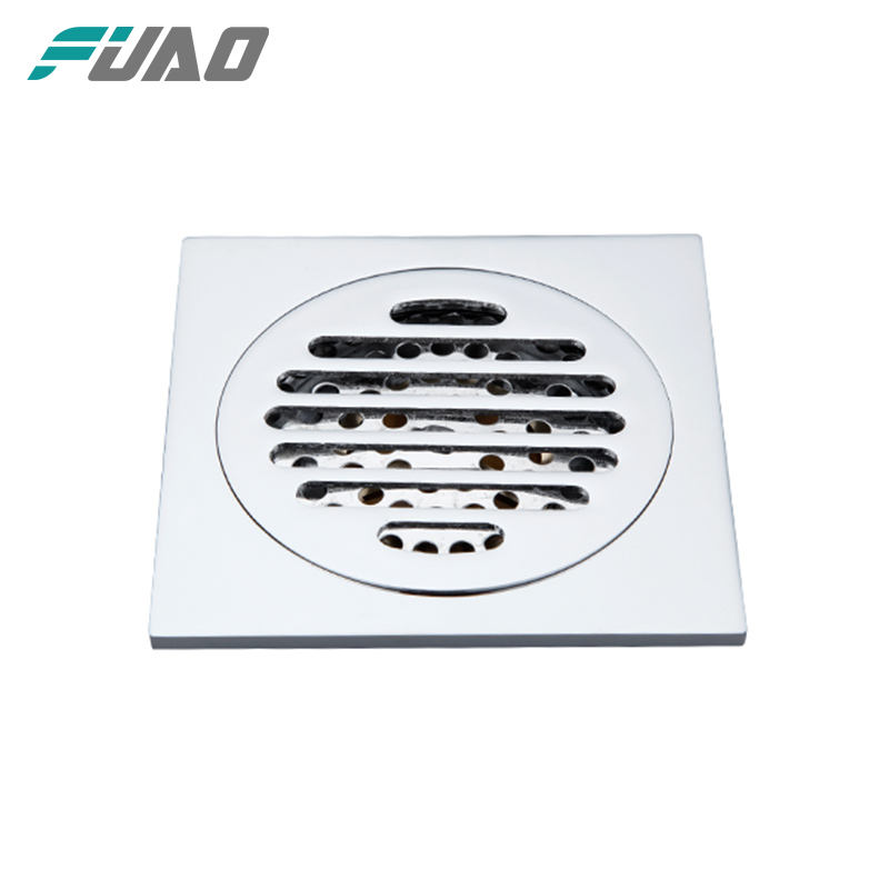 Auto-close stainless steel shower drain & bathroom floor drain