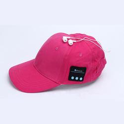 Creatway Professional Smart Blue tooth Music Sun Hat Bluetooth Summer Sun Hat Black Baseball Hat With bluetooth headset