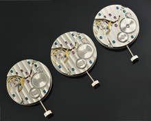 hand wind mechanical ETA6497 watch movement