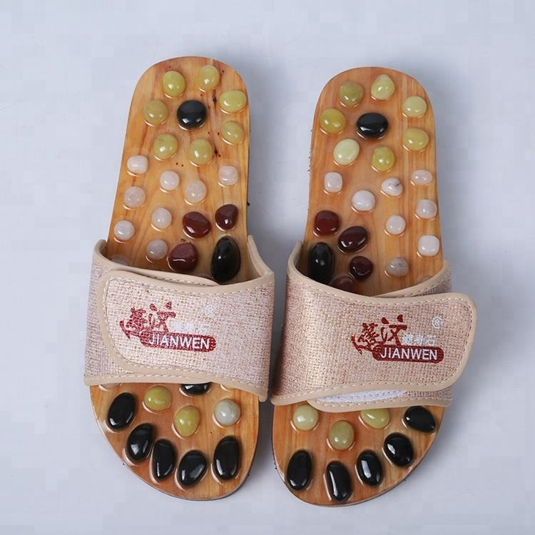 Hot sale foot acupuncture massage slippers shoes