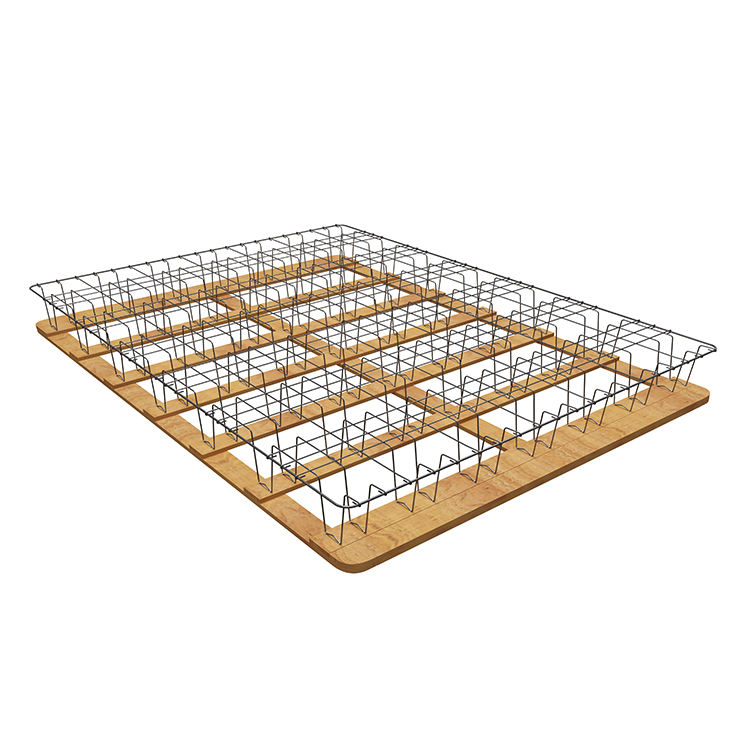 Luxury Modern Hotel Mattress Foundation Base Metal Bed Frame