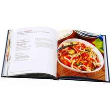 Factory 4 color cookbook offset printing service