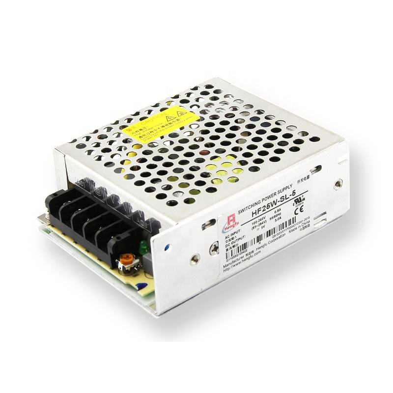 Fuente 5V 5A Mean Well RS-25-5 25W Single Output Switching Power Supply