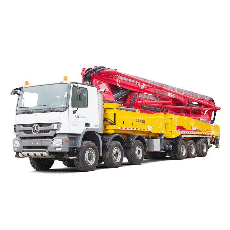 XCMG 30m boom truck mounted concrete pump sale in Malaysia
