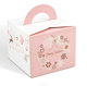 China custom high quality pretty festival gift paper box for christmas