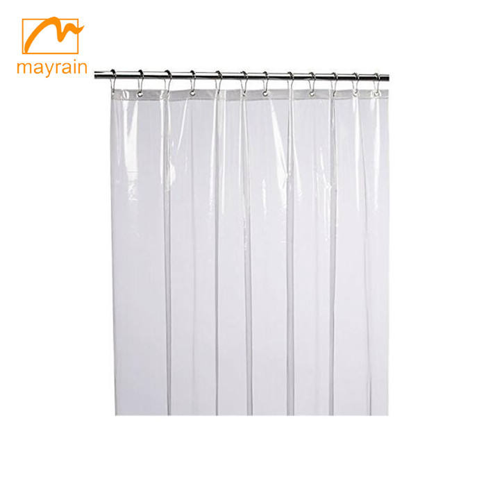 Mildew Resistant Anti-Bacterial PEVA Shower Curtain Liner