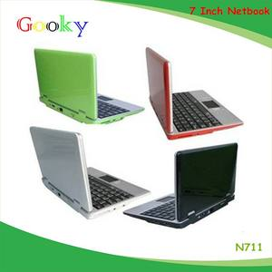7 inch Dual Core android netbook kids learn laptop computer 7 inch mini android laptop N711