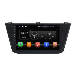 Custom Design ancora cool car dvd player Android 8.0 poggiatesta lettore dvd scaricare software per Tiguan 2016 car dvd gps lettore