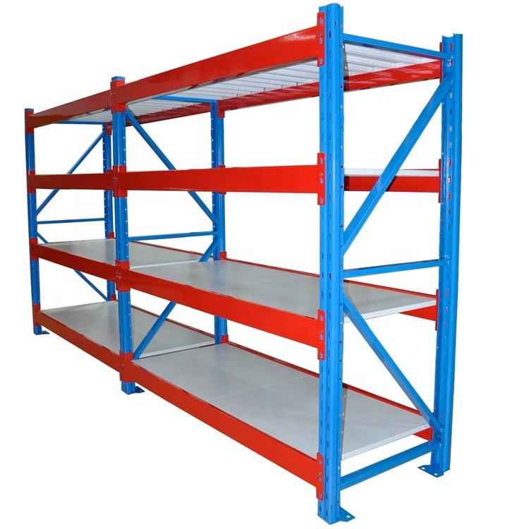 High quality warehouse adjustable metal pallet rack powder coating racks for long items beam