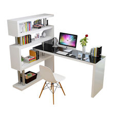 Top Quality Study Writing Desk Modern Office Desk Computer Desk With Bookshelf