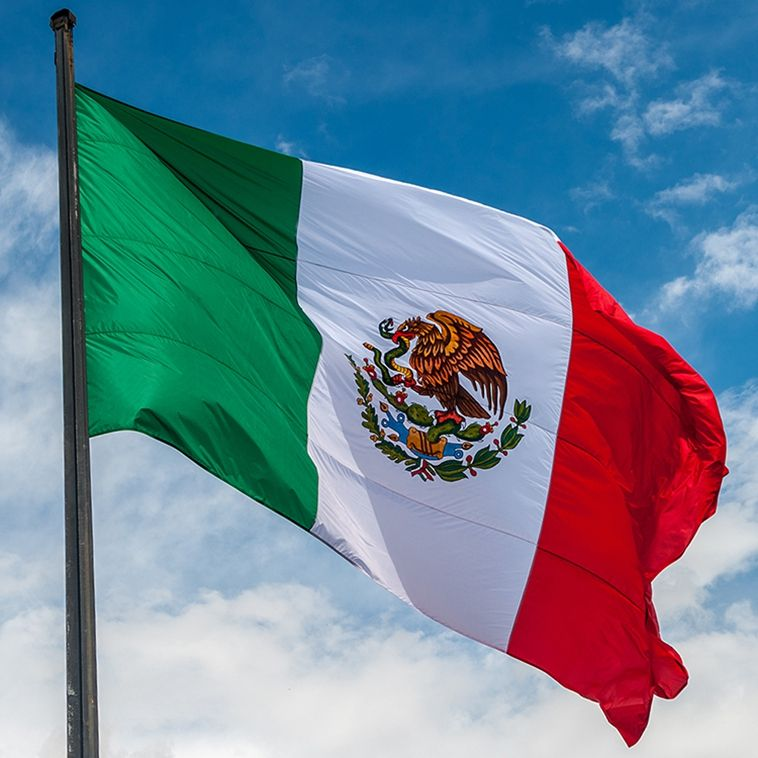 90 x 150 cm Mexico national Flag indoor outdoor decoration Furnishing banner Mexican flag