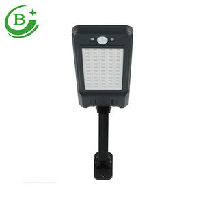 Wall Mounted Solar motion sensor licht IP65 Outdoor Waterdichte tuin led licht