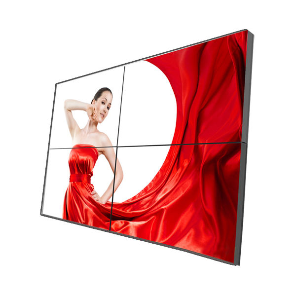 55 นิ้ว lcd tv LG ultra - narrow seamless Bezel 2x2 lcd digital signage player วิดีโอ