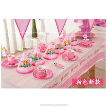 Pink Color Customized Design Children Birthday Party Kit