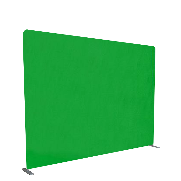 Foldable chroma key green screen custom tension fabric photo booth studio background backdrop