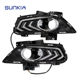 SUNKIA LED Daytime Running Light Specific for Ford New Mondeo Fog Lights Modification of The Light Guide Bar with Fog Lamp Hole