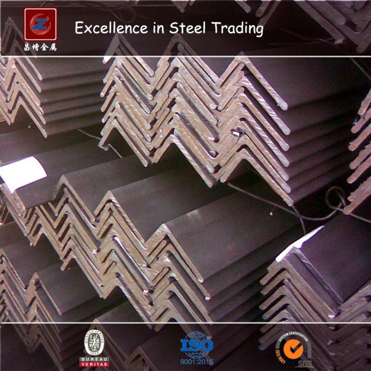 Productos de Acero Estructural de Acero larga Sección De Acero Galvanizado Ángulo