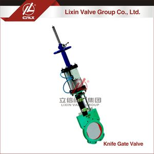 Factory wholesale cheap handwheel pneumatic switch slurry knife gate valve