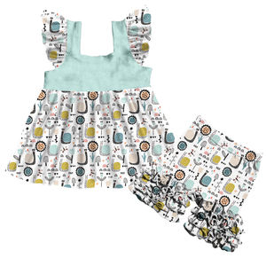 baby clothes manufacturers usa floral kids outfits ruffles children clothing cute