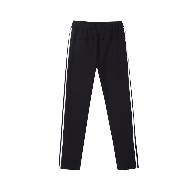 Drop Shopping Cotton Material Long Track Sport Pants