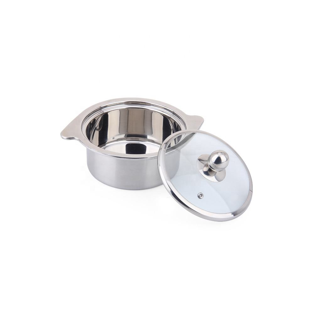 Wholesale Commercial Stainless Steel Hot Pot Soup Pot for Restaurant