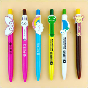 Clip Customized Pen/Pen Carton Clip/Custom Clip Promotion Pen advertising ball pen cheap logo pen