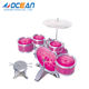 Multifunctional musical instrument toy 5pcs cheap drum set price for kids