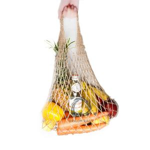 Eco Friendly Recycling Jute Kordel Net Mesh Tasche