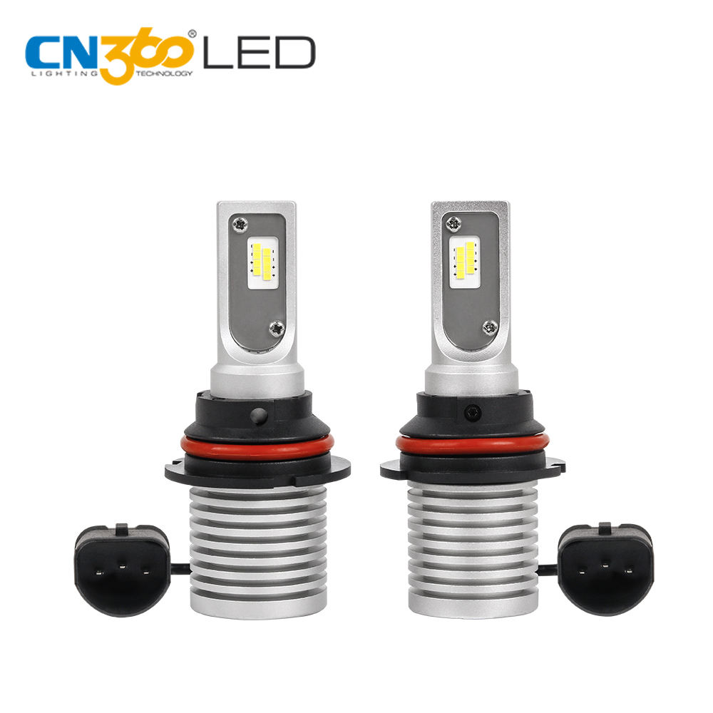 Led h7 h11 h4 9007 12 v 6500 k reemplazo de bombilla mini V9 faro led 13 w 60 w 1500lm super brillante led