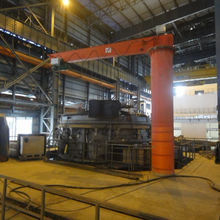 High-quality EAF 40t electric arc furnace  for steel scrap melting