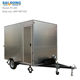 304stainless steel customized mobile bbq food cart/mobile food cooking trailer