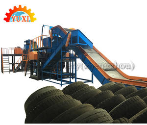 Factory Price Waste Tire Recycling Machine Production Line Tyre Recycling Rubber Powder Machine