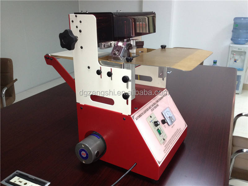 leather belts double edges painting machine