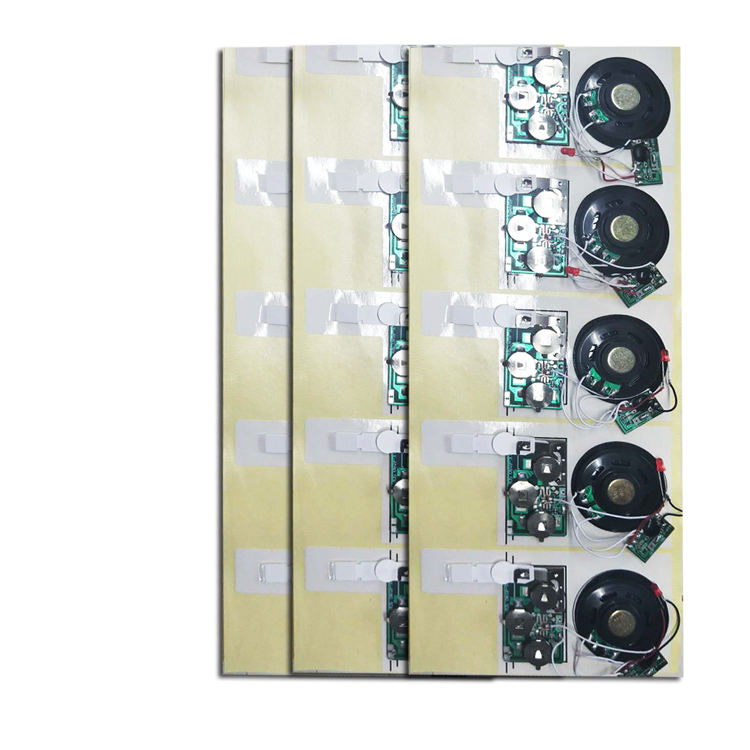 Fast delivery custom electronic blank speaker music chip greeting card sound module