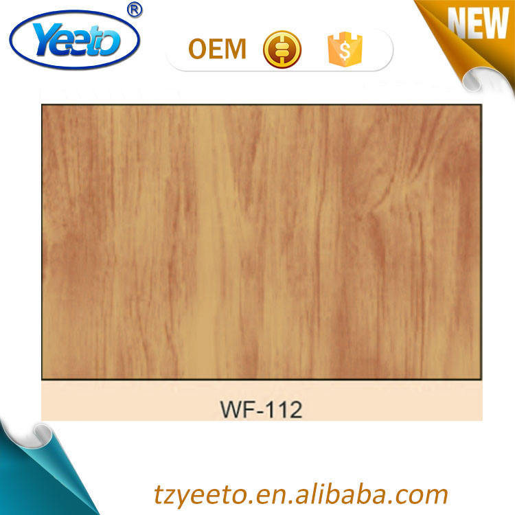 WF-112 Kayu Antik Furniture Decals Kertas Stiker