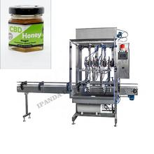 2020 new arrivals automatic peanut butter jar filling machine, paste filling machine peanut butter filling/