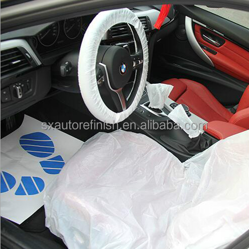 CAR PE DISPOSABLE SEAT COVER
