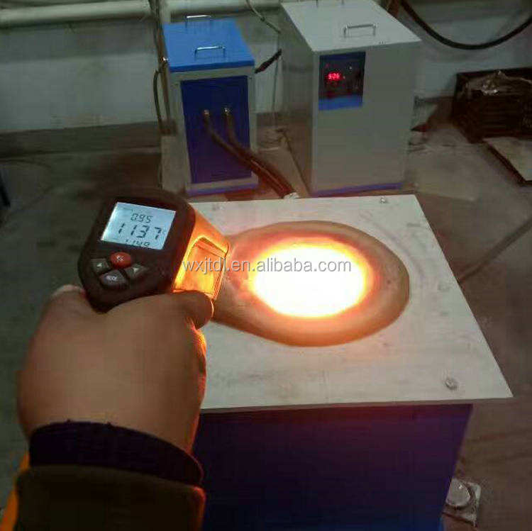Small Induction Furnace Sale 150kg Copper Melting Furnace