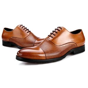 Factory wholesale men's custom genuine leather men dress office shoes for man