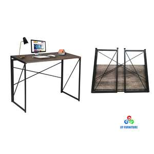 Foldable table study desk folding computer desk for home and office