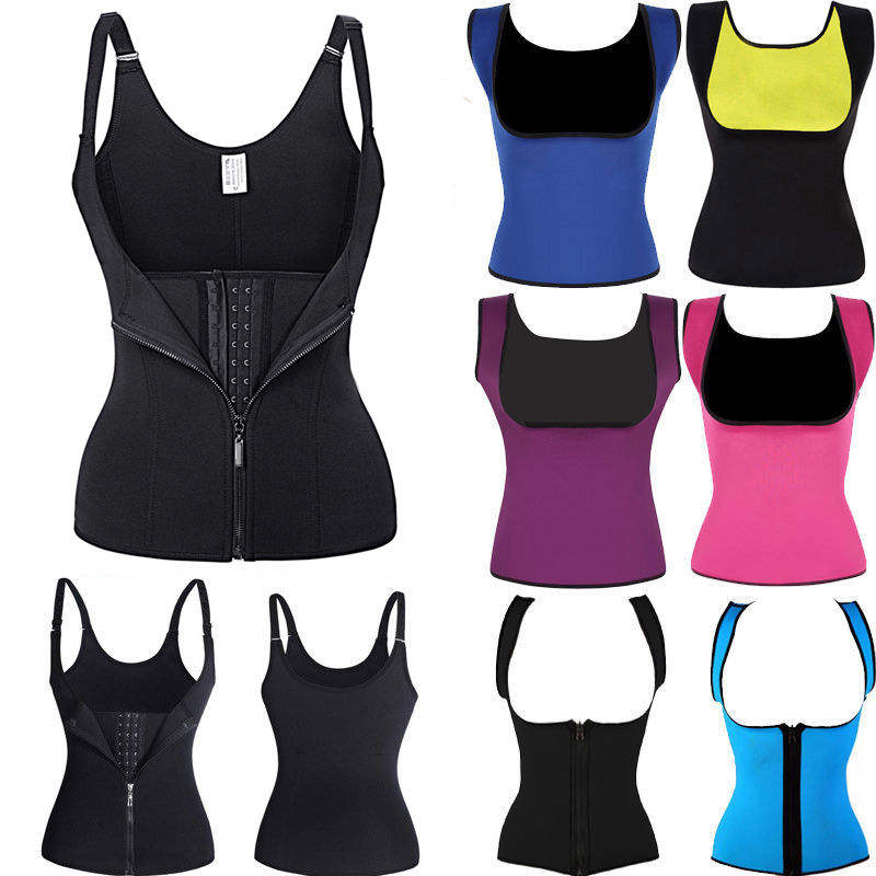 Body Shaper Vest Slim Waist Trainer Cincher Corset Shapewear