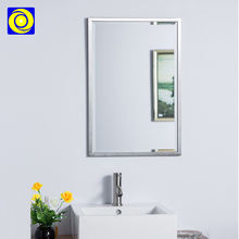Hotel classic stainless steel bathroom 23*29' wall mirror decorative modern frame