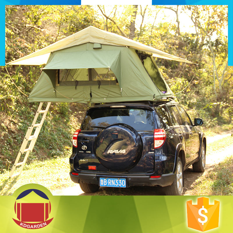 280g canvas material camper trailer car roof top tent