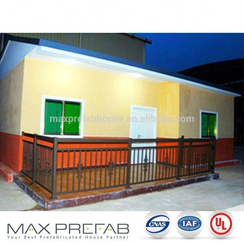 PV0609鋼構造プレハブグラスファイバー住宅ヴィラ