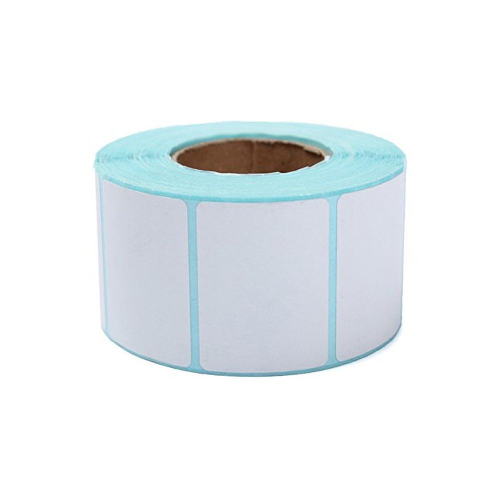 Personnalisé papier thermique adhésif autocollant étiquette d'emballage