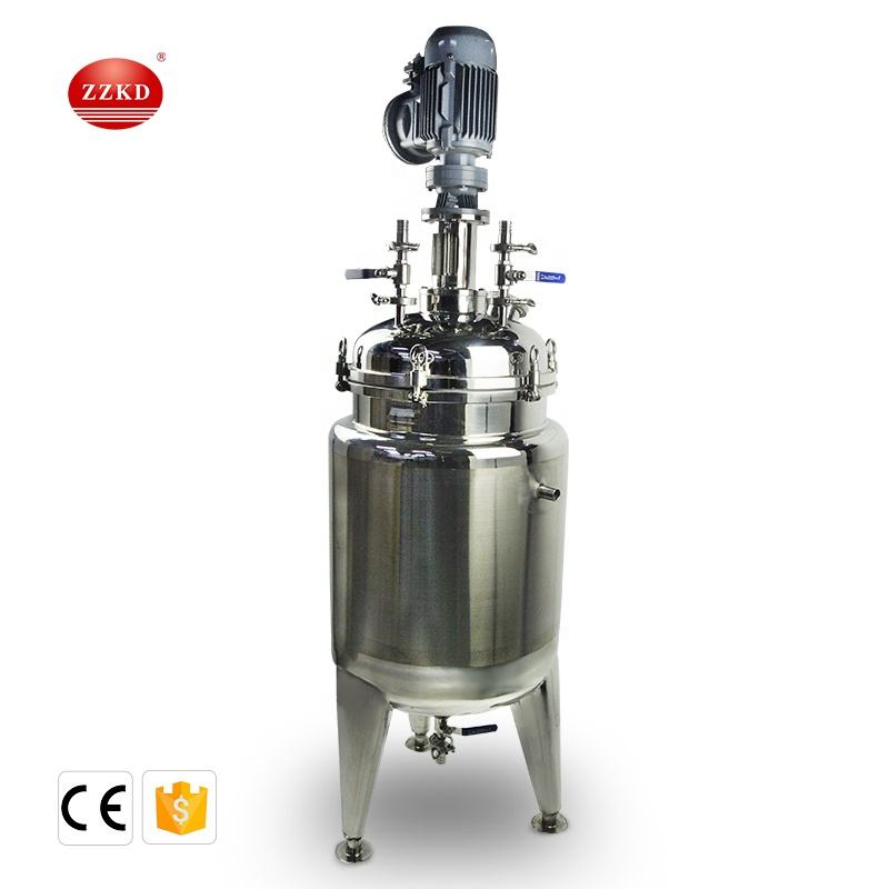 40L 50L 60L 80L Stainless Steel Jacketed Reactor